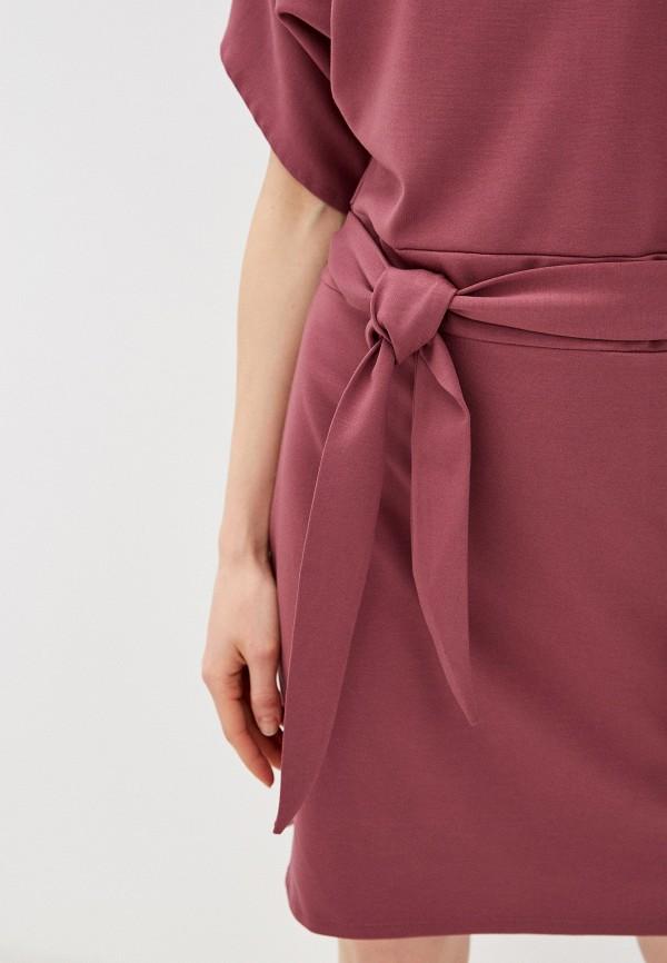 Фото 4 - Женское платье Befree розового цвета