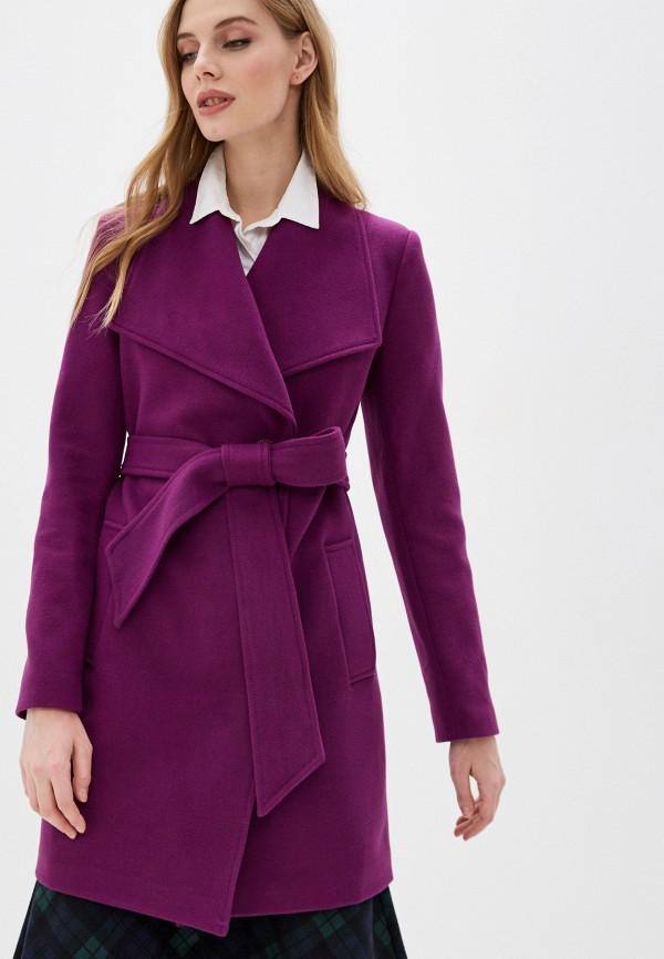 женское пальто karolina, фиолетовое