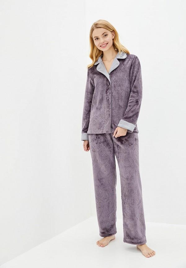 женская пижама komilfo, фиолетовая