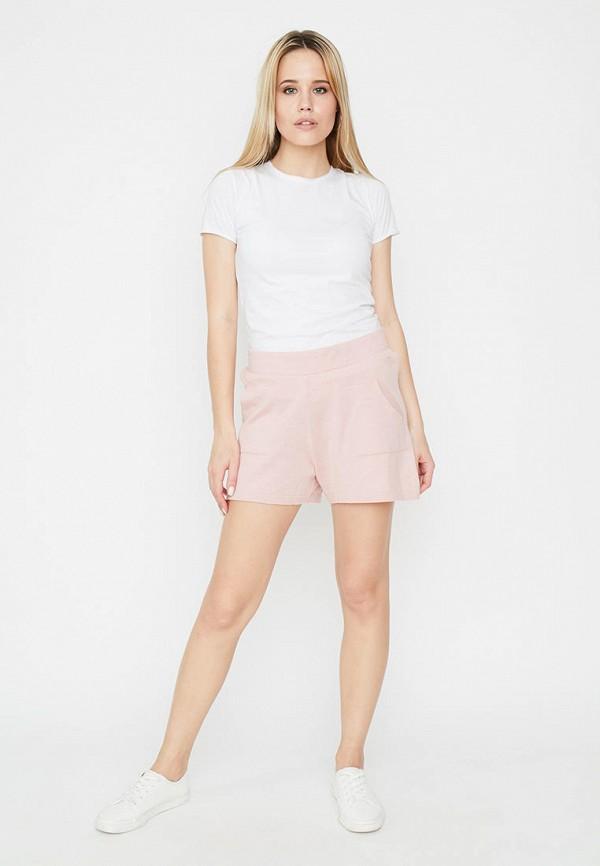 женские повседневные шорты прованс, розовые