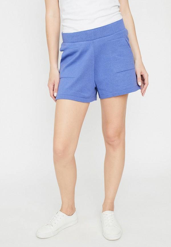 женские повседневные шорты прованс, синие