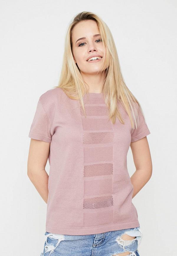 женская футболка прованс, розовая