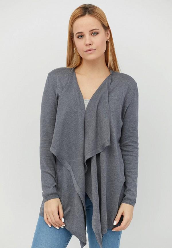 женский кардиган прованс, серый
