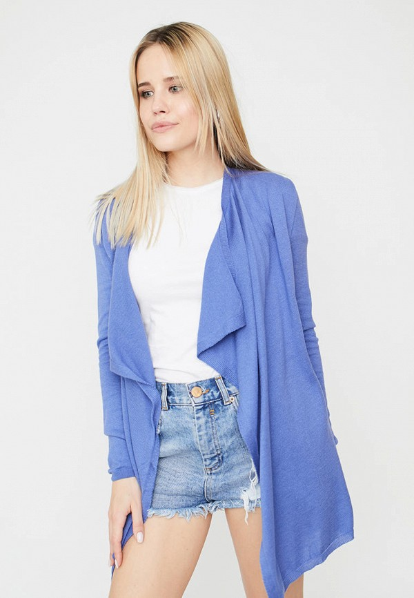 женский кардиган прованс, синий
