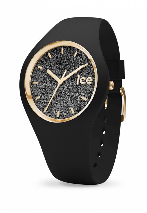 женские часы ice watch, черные