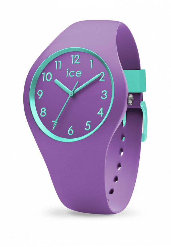 женские часы ice watch, фиолетовые