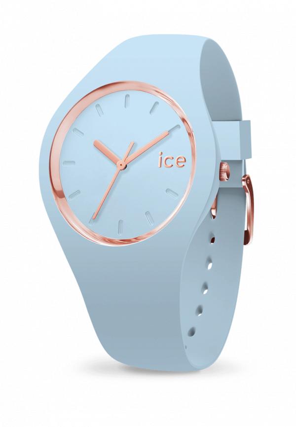 женские часы ice watch, голубые