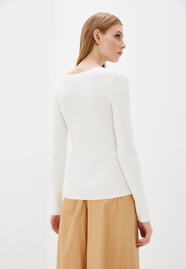 Фото 3 - Женский пуловер Befree белого цвета