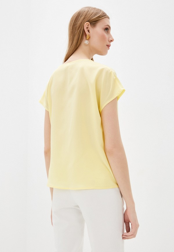 Фото 3 - Женскую блузку Befree желтого цвета