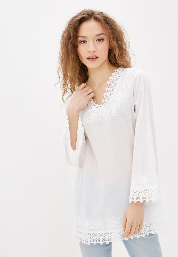 женская туника just beauty, белая