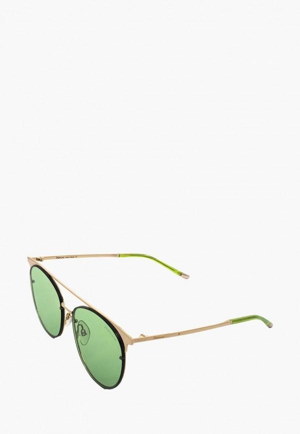 женские солнцезащитные очки ana hickmann, зеленые