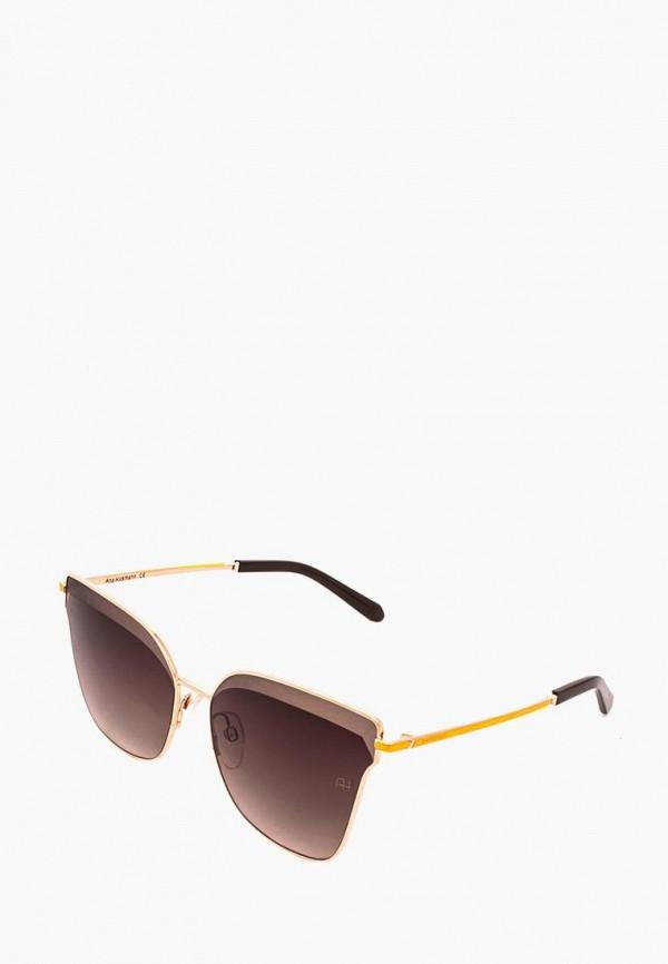 женские солнцезащитные очки ana hickmann, коричневые