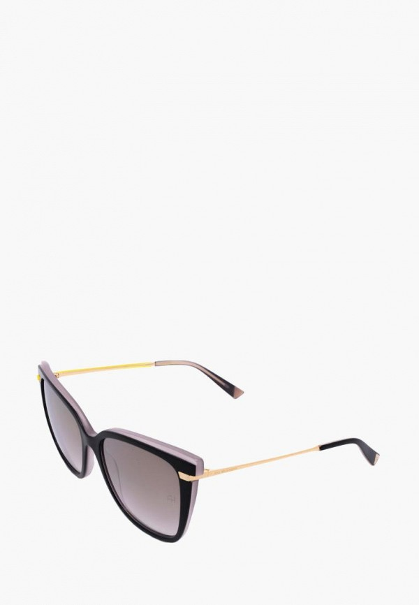 женские солнцезащитные очки ana hickmann, черные