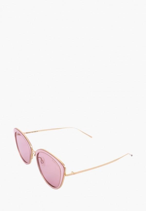 женские солнцезащитные очки ana hickmann, розовые