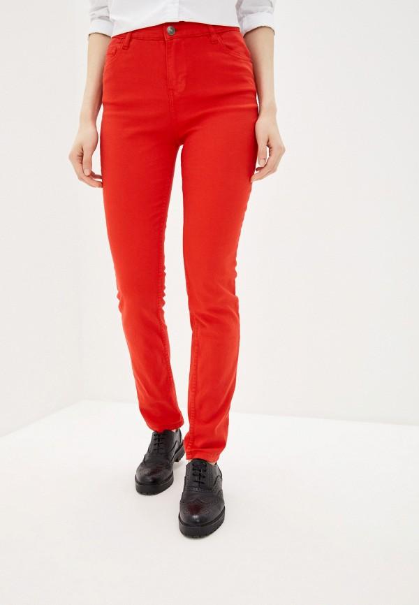 женские повседневные брюки incity, красные