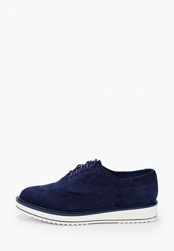 женские низкие ботинки t.taccardi, синие