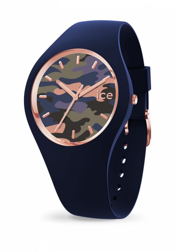 женские часы ice watch, синие