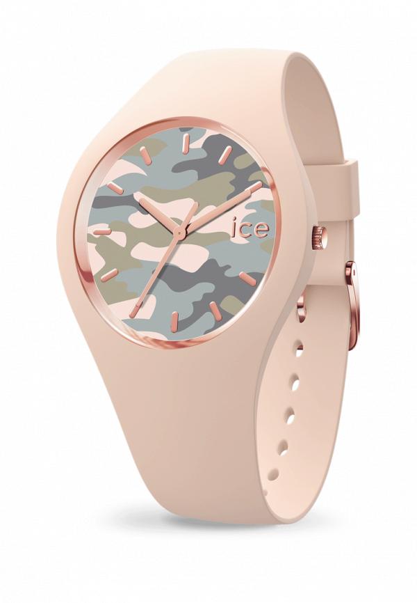 женские часы ice watch, розовые