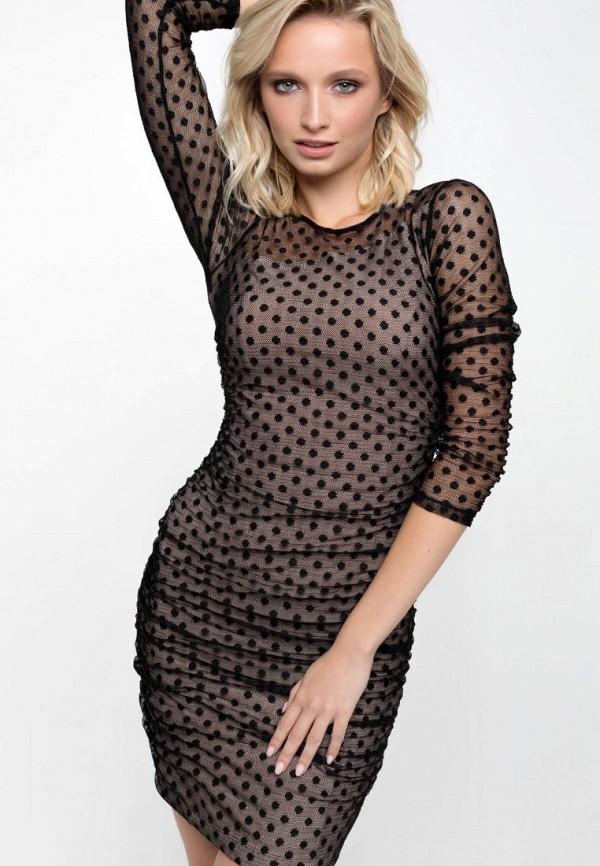 женское вечерние платье ricamare, черное