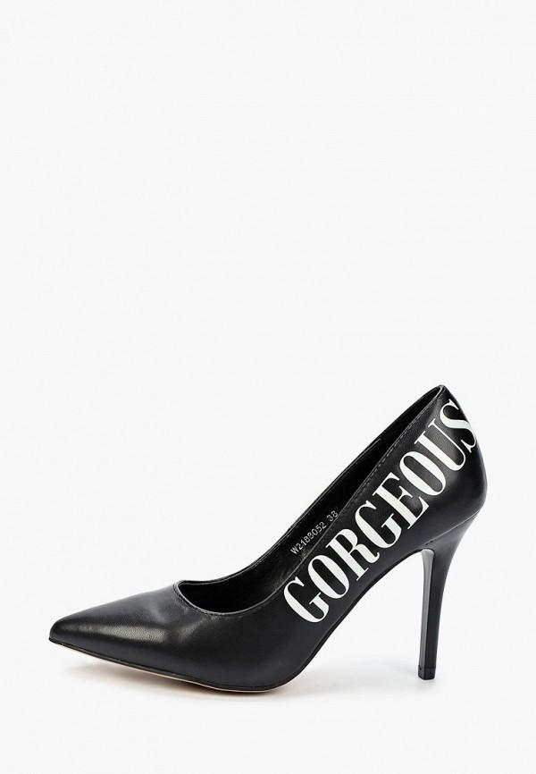 женские туфли-лодочки t.taccardi, черные