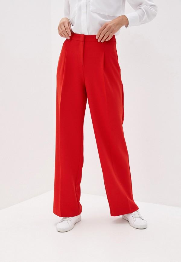 женские повседневные брюки zarina, красные