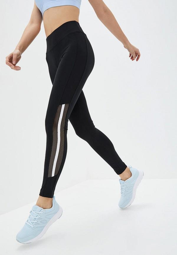 женские спортивные леггинсы mira shar, черные