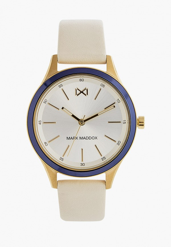 женские часы mark maddox, бежевые