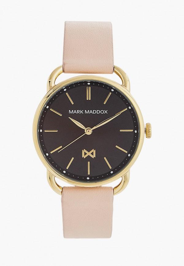 женские часы mark maddox, розовые