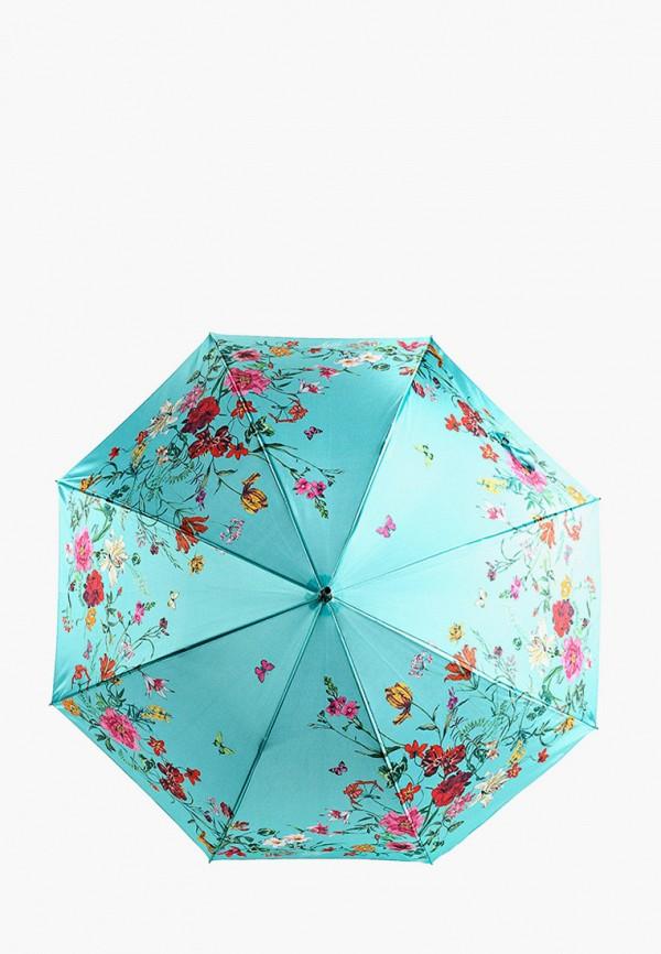 женский зонт-трости flioraj, бирюзовый