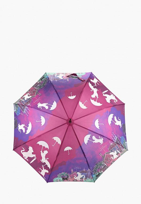 женский зонт-трости flioraj, фиолетовый