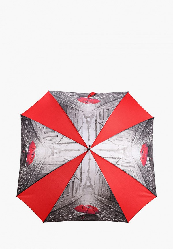 женский зонт-трости flioraj, красный