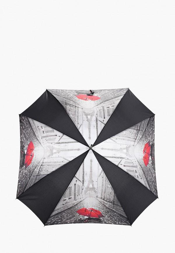 женский зонт-трости flioraj, серый