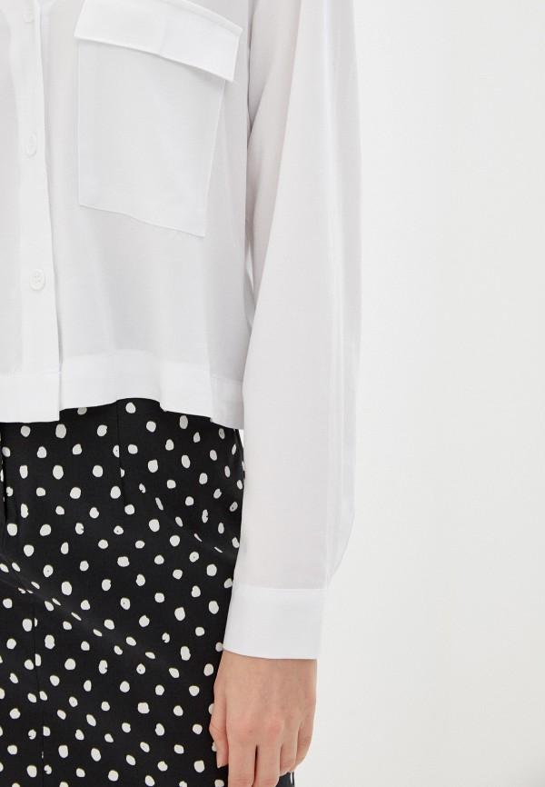 Фото 4 - Женскую блузку Befree белого цвета