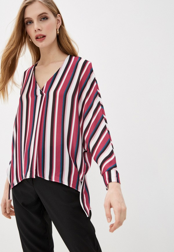 женская блузка с длинным рукавом mark formelle, разноцветная