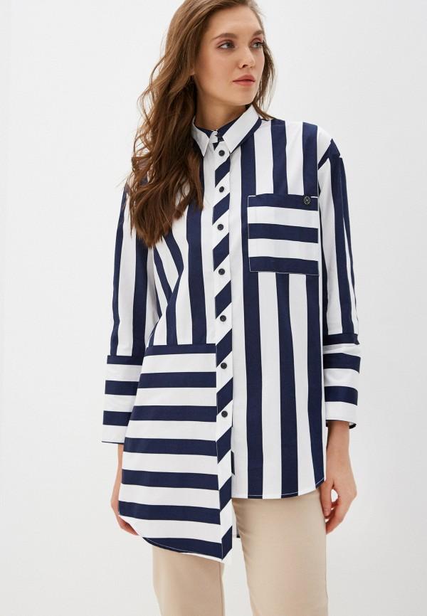 женская рубашка с длинным рукавом danmaralex, белая