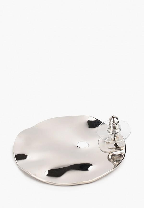 Фото 2 - Женские серьги, клипсы или пирсинг Bradex серебрянного цвета