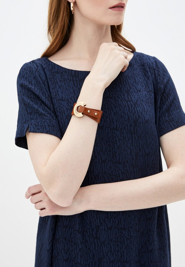 Фото 3 - Женский браслет Bradex коричневого цвета