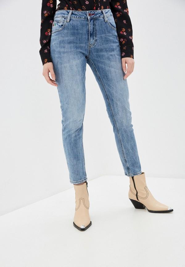 женские джинсы бойфренд mossmore, голубые