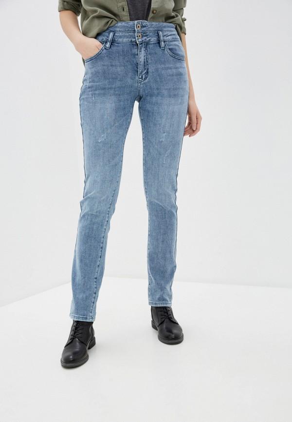 женские джинсы скинни mossmore, голубые