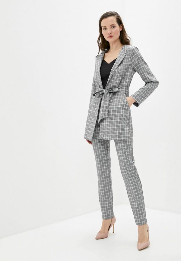 женский костюм avemod, серый