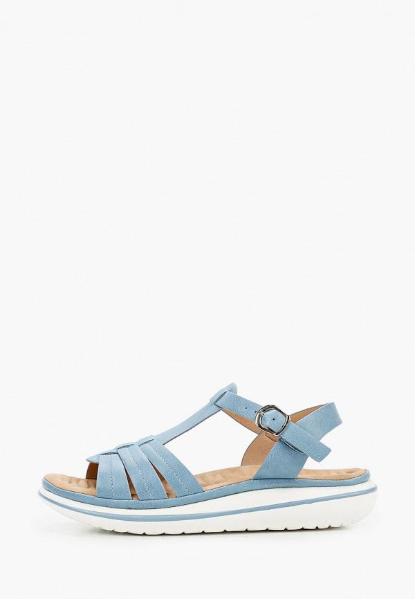 женские сандалии t.taccardi, голубые