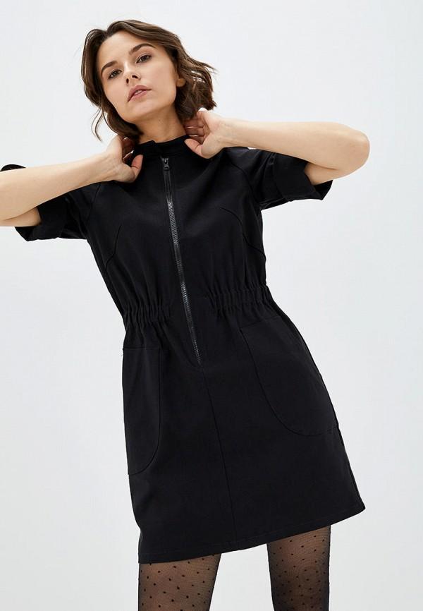 женское повседневные платье 7arrows, черное