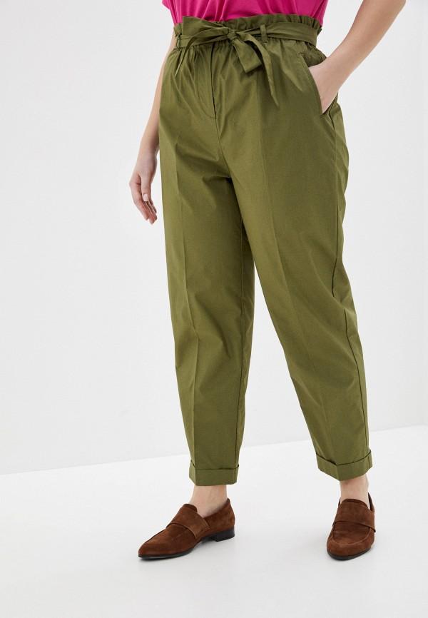 женские зауженные брюки incity, хаки