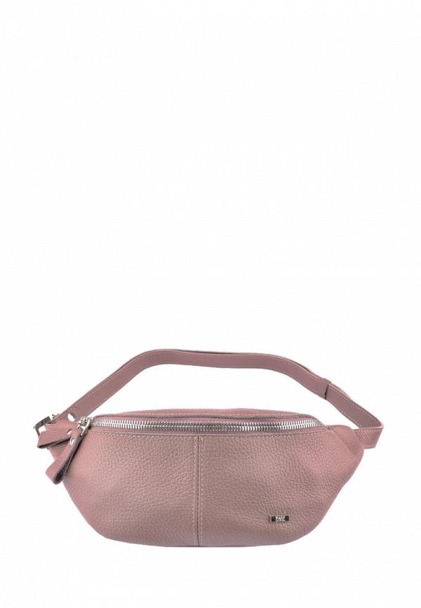 женская поясные сумка esse, розовая