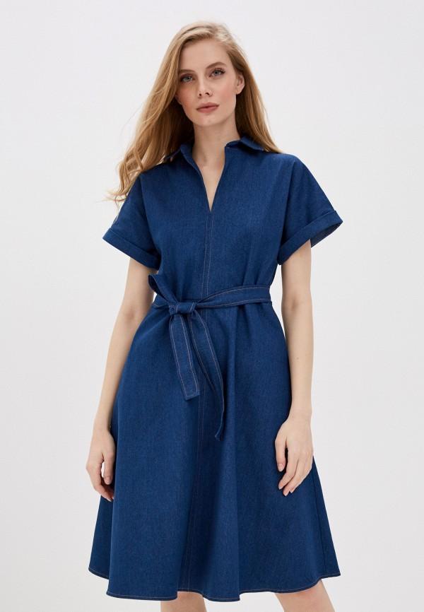 Платье джинсовое AM One AM One  синий фото