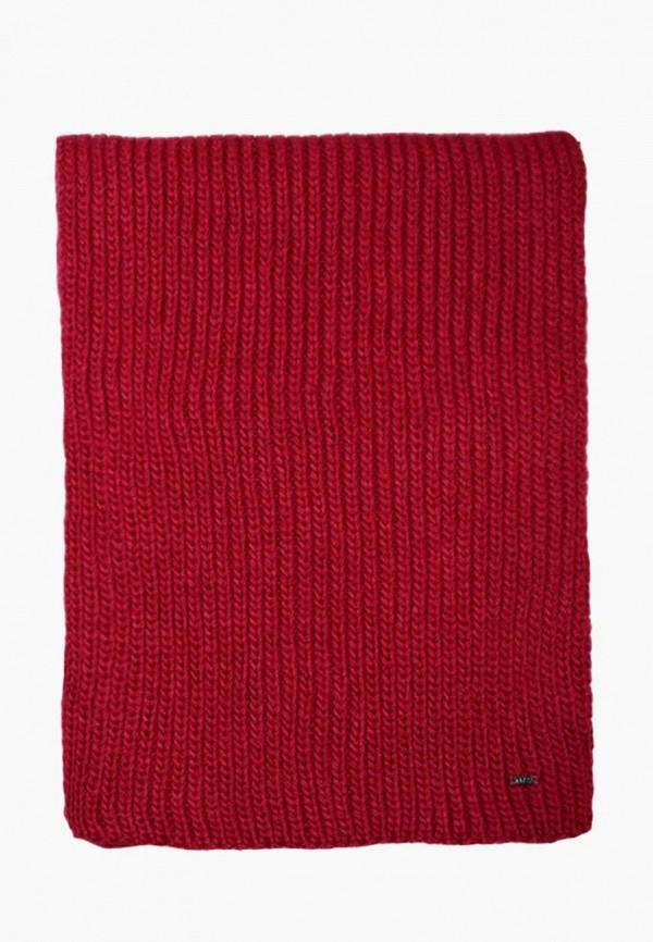 женский шарф амоо, красный