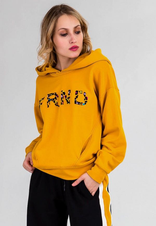 женские худи for friends, оранжевые