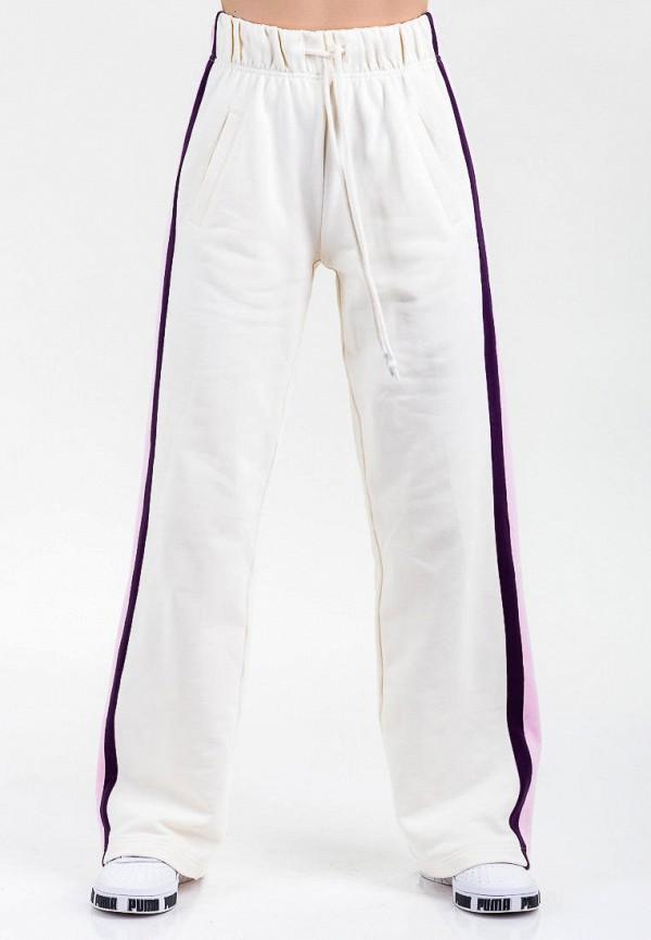 женские спортивные брюки for friends, белые