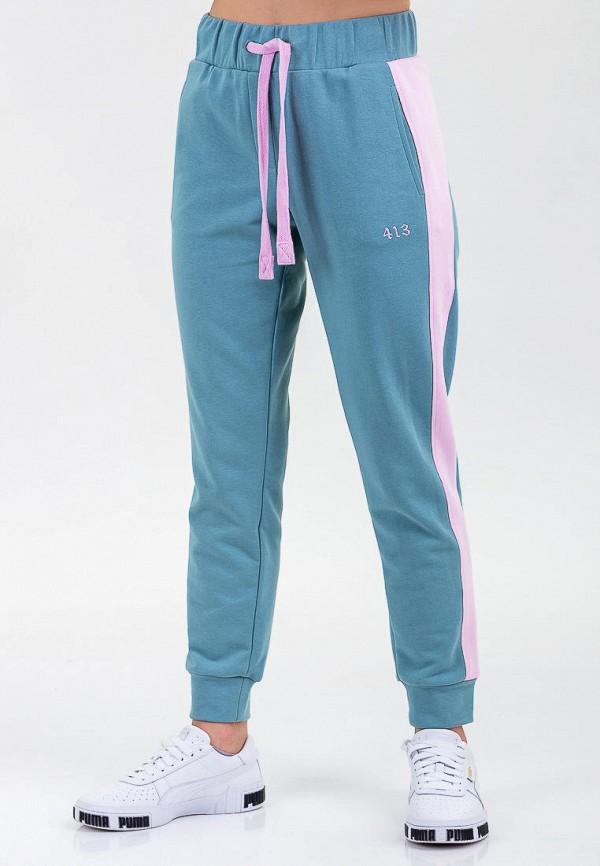 женские спортивные брюки for friends, голубые
