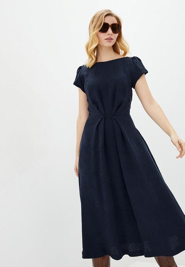 женское повседневные платье arefeva, синее